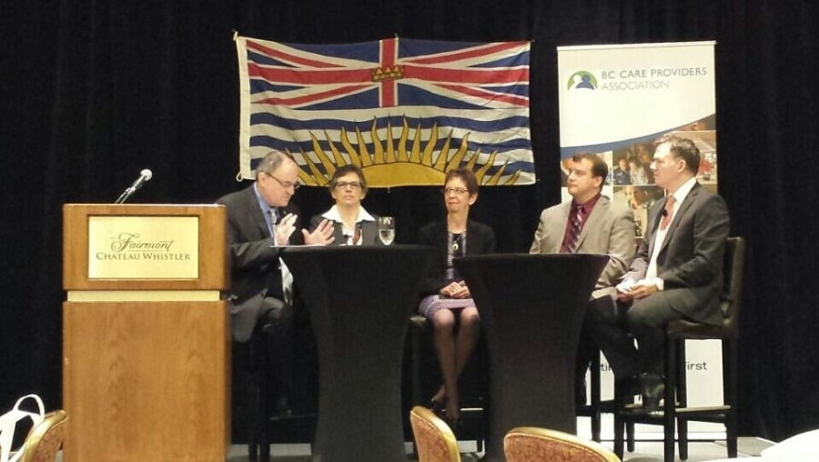 Panel discussion on the need for a National Dementia Strategy at BC Care Providers Association Annual Conference